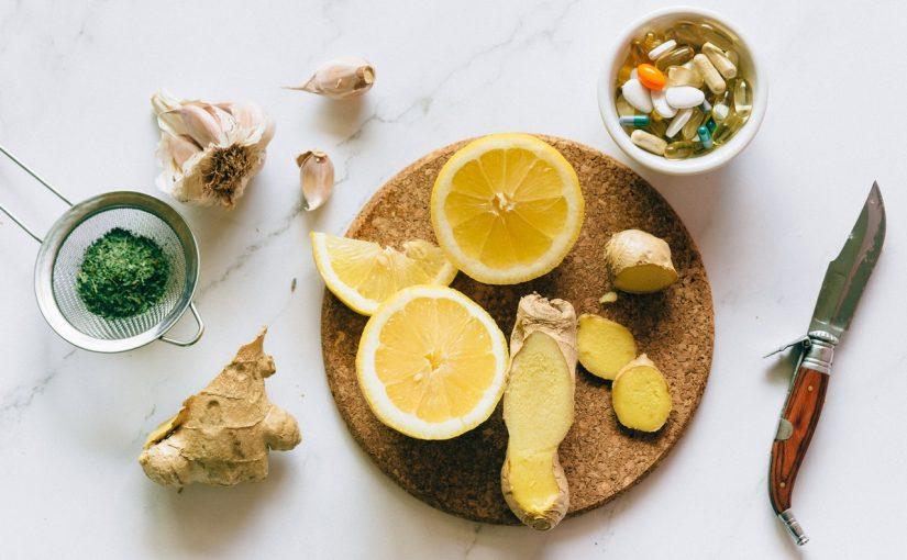 Receita japonesa com limão, alho e gengibre – limpa as artérias e controla pressão alta