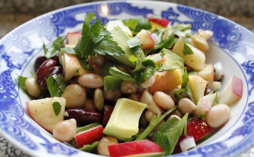 Salada fria de Feijão-verde