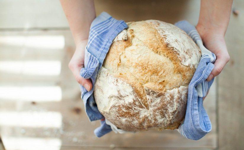Pão Rústico com Alecrim e Alho – Sem Amassar