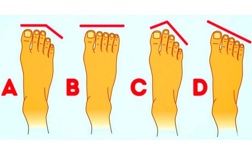 O que o formato dos seus dedos dos pés revela sobre a sua personalidade e estado de saúde